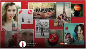 Coca-Cola's Google+ Page Background