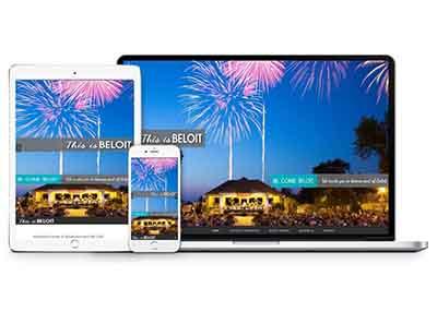 This Is Beloit Website Design