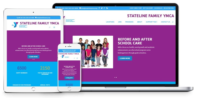 YMCA Preferred Vendor Website Design Firepoint Media (Custom)